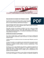 Banco de Prueba Definicion