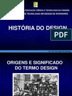 Aula 1 - Origens e Significado Do Termo Design