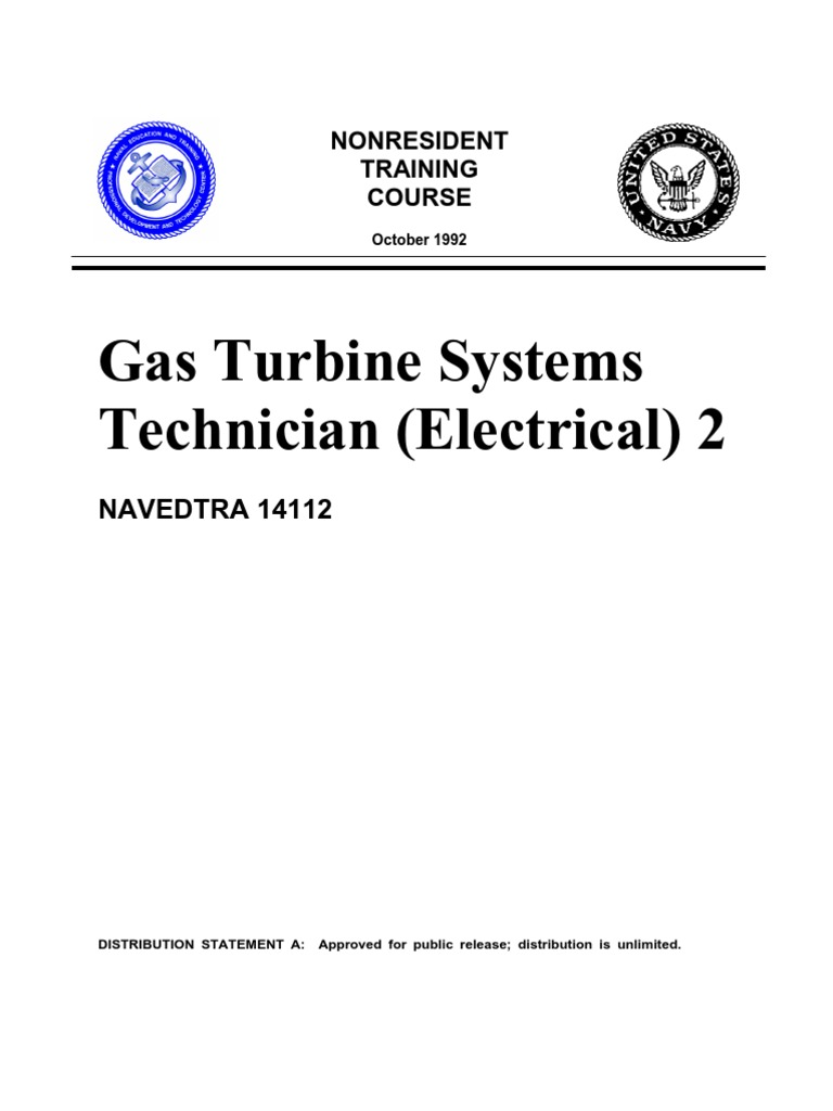 Us Navy Course Navedtra 14112 Gas Turbine Systems Technician Fuel Gauge Wiring Diagram On Rule Bilge Pump 3 Way Electrical 2 Quality Assurance Specification Technical Standard