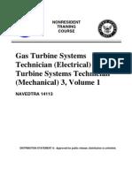 US Navy Course NAVEDTRA 14113 - Gas Turbine Systems Technician 3, Volume 1