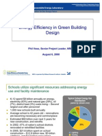 Energy Efficiency in Green Building Design