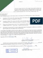 Affidavit Mayor New; MEDHAB, LLC 12-159