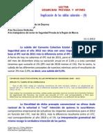 Inaplicacion de Las Tablas Salariales 2012 -