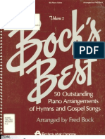 50 Outstanding Piano Arrangements of Hymns and Gospel Songs -Vol. 1 - Arranged by Fred Bock