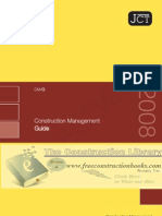 JCT Construction Management Guidence