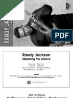 Randy Jackson Booklet