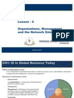 2. Organization, Managment and the Networked Enterprise
