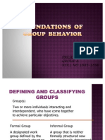 Group Behavior - Final Ppt