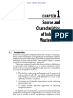 CHAPTER 1 Source and Characteristics Of Industrial Waste Waters