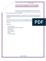 ANALISIS de AGUA ( a y PHmetro)