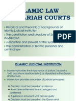 Islamic Law in Syariah Courts
