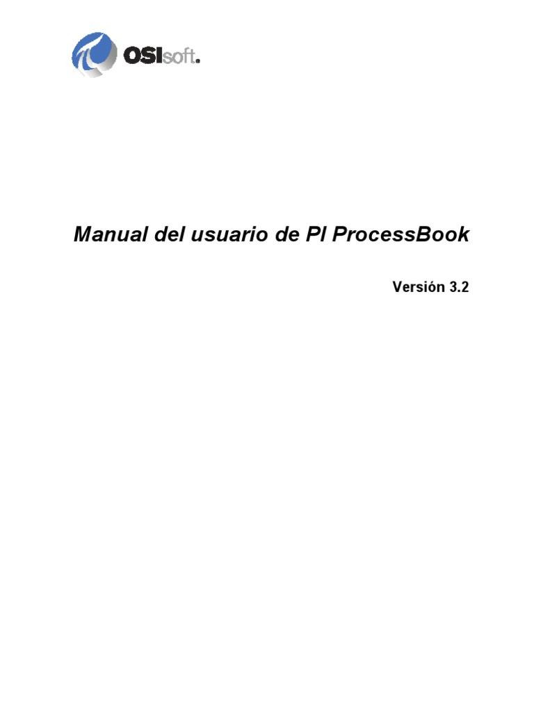 PI Process Book 3_2 User Guide ES