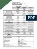 Calendário Graduação_Nilópolis_2011