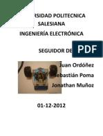 Informe Seguidor de Lineas