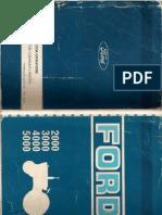 Manual Ford 5000