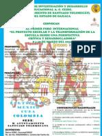 Cartel Oxaca 2012