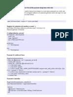 Authorize Net(AIM) Payment Integration