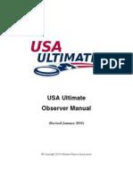 usa ultimate observer manual