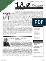AAHA Newsletter Vol.1 Issue3 Feb-Mar 09