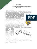 Analiza Statica a Unui Mecanism Motor ( Piston - Biela - Manivela )