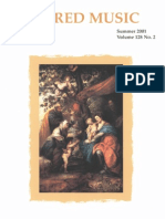 Sacred Music, 128.2, Summer 2001; The Journal of the Church Music Association of America