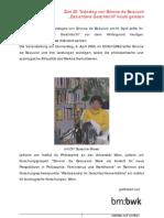 Beauvoir-Graz-Bericht