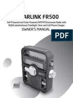 FR500 Manual