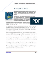 How to Learn Spanish Verbs