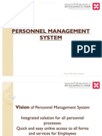 Personnel Management System 2