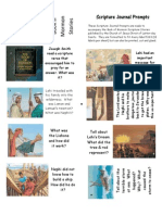 Book of Mormon Scripture Journal Prompts