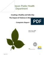 Creating a Healthy and Safe City