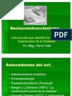 2 Socioconstruccionismo