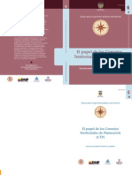 Guia DNP Consejos Territoriales de Planeación