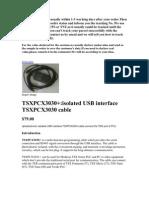 Tsxpcx3030 Cable