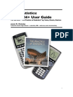 AP Statistics _TI83+84+ User Guide