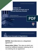 Wharton Negotiations 06-22-10