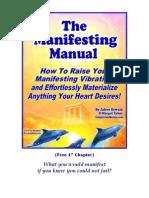 Manifesting Manual Humanity Healing