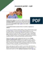4 Tipuri de Atasament Parinti-copii