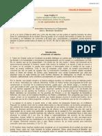 Encíclica Fides et Ratio (Fe y razón)