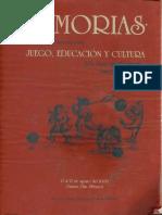 Flores, Miguel (2000) Juego y Cultura