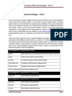 VMware Fusion Network Settings - Part 1