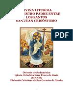 La Divina Liturgia de San Juan Crisostomo