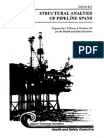 Structural Analysis of Pipeline Spans