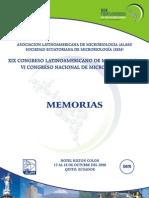 Microbiología, 19 congreso 2008