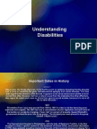 Understanding Disabilities