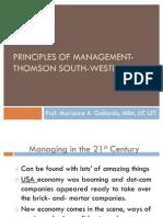 Principles of Management-Midterm Exam