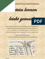 Latein Lernen Leicht Gemacht