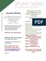Akron-Canton TRIO October, November, December 2011 Newsletter