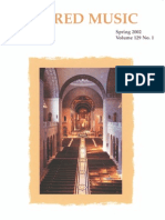 Sacred Music, 129.1, Spring 2004; The Journal of the Church Music Association of America