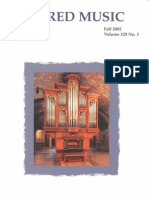 Sacred Music, 129.3, Fall 2004; The Journal of the Church Music Association of America